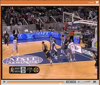REVIVE LA VICTORIA DE MMT ESTUDIANTES EN ACB-TV
