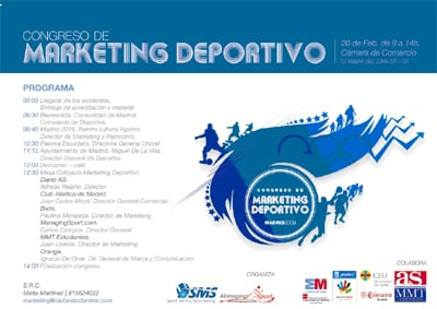 I CONGRESO DE  MARKETING DEPORTIVO