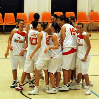 Hoy empieza el Europeo U-16 femenino con representación colegial