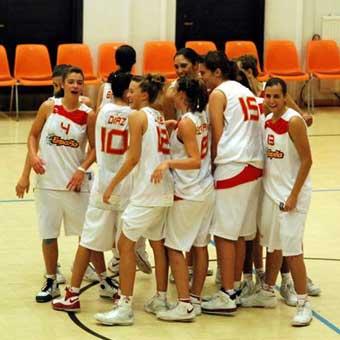 La U-16 fem. a cuartos de final del Europeo