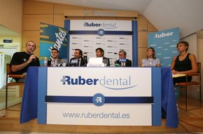 Estudiantes y Ruber Dental, pioneros en salud bucodental a alto nivel deportivo