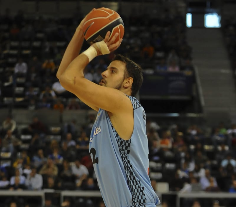 """Germán Gabriel: """"Estoy volviendo a disfrutar del baloncesto"""""""