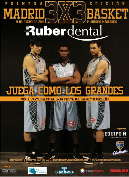 Torneo 3×3 Ruber Dental de Estudiantes y Equipo Ñ