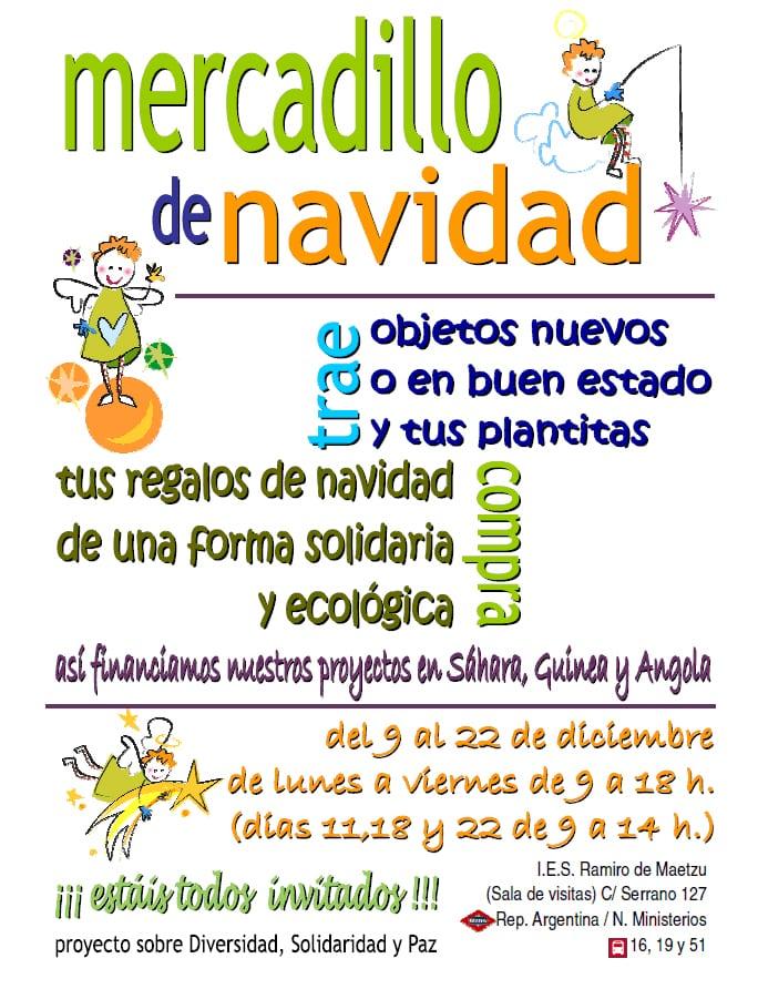 Mercadillo Solidario en el Ramiro