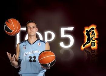 Caner-Medley, nº1 del Top 5 de ACB-TV