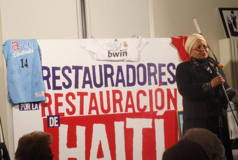 Asefa Estudiantes colaboró en la cena solidaria con Haití