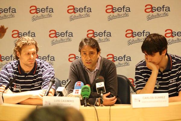 """Luís Casimiro: """"La defensa debe ser nuestro Asefa, nuestro seguro"""""""