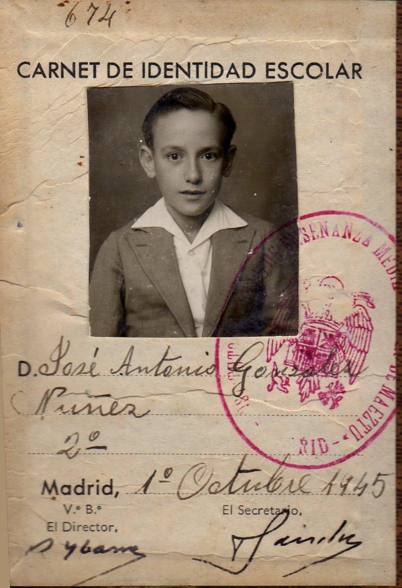Fallece José Antonio González Núñez, socio fundador de Estudiantes