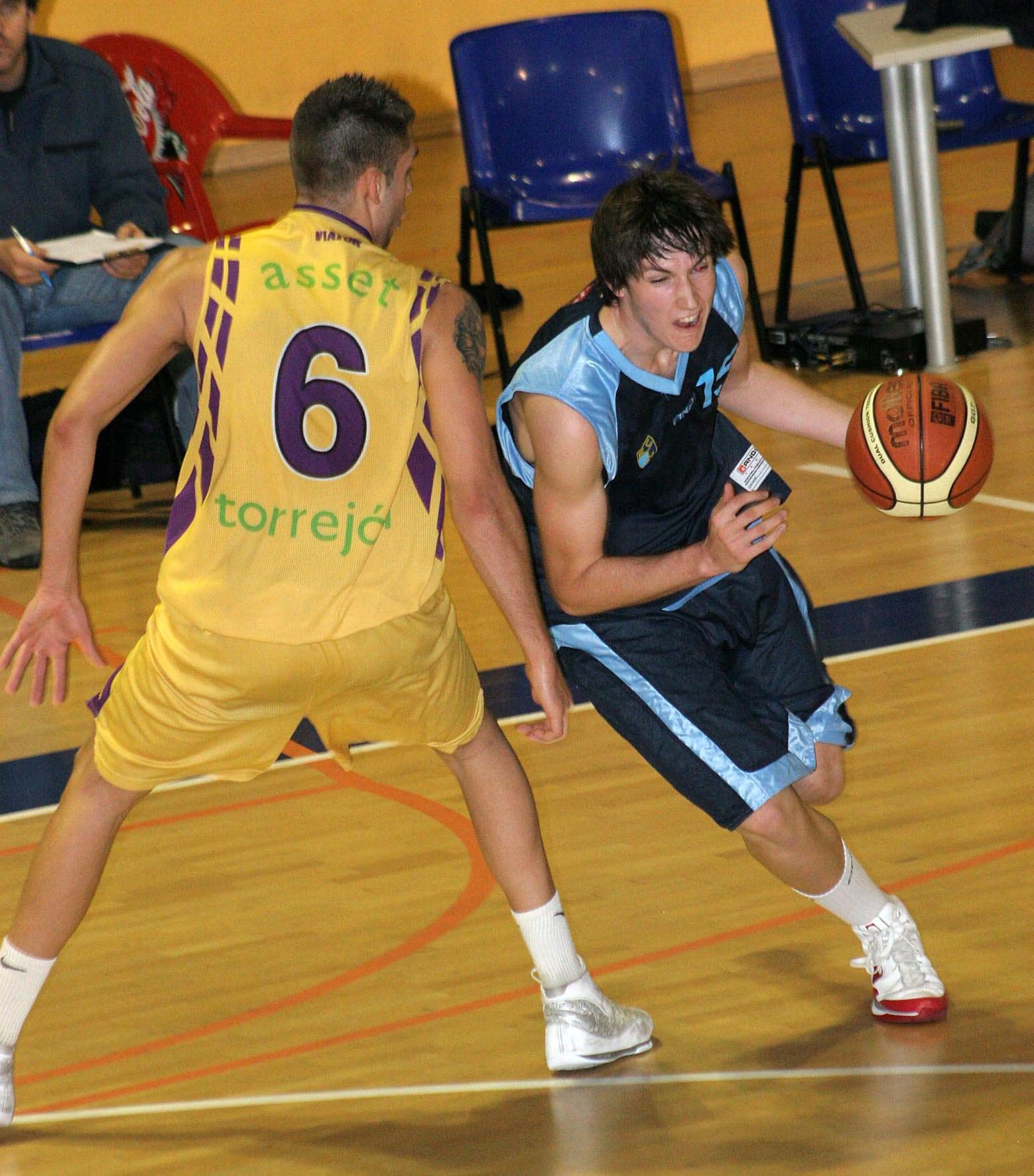Eduardo Martinez, representación colegial en el Europeo sub20 de Croacia