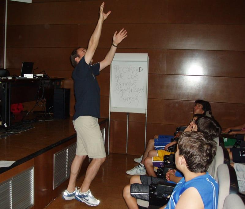 Siete años difundiendo las reglas del basket en el Campus