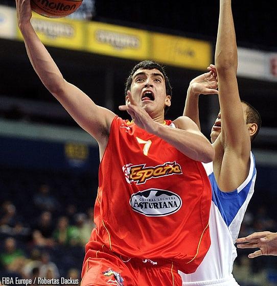 Europeo sub18: España empieza fuerte (57-61)