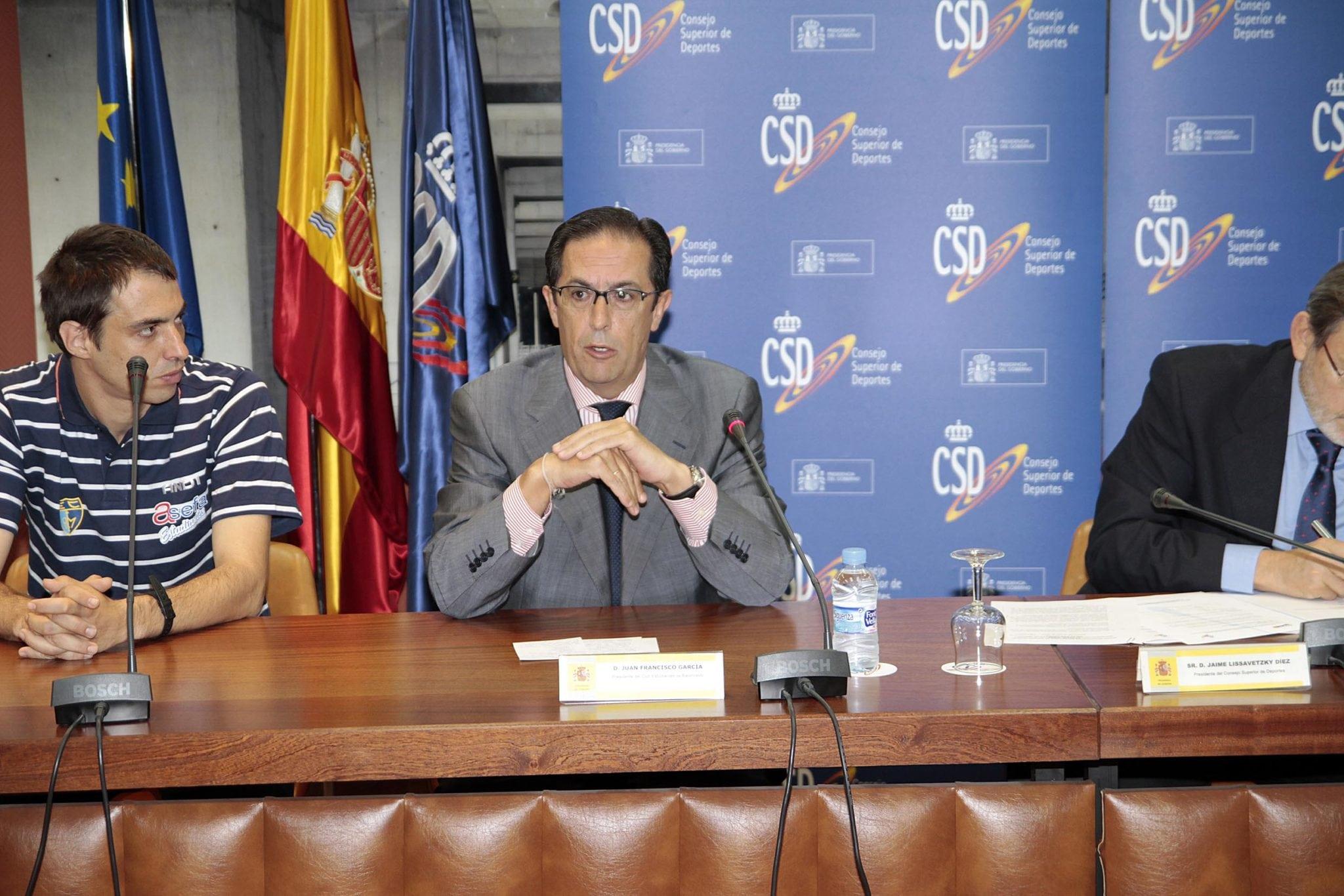 """J.F. García: """"Es un orgullo que el CSD pensara en Estudiantes"""""""