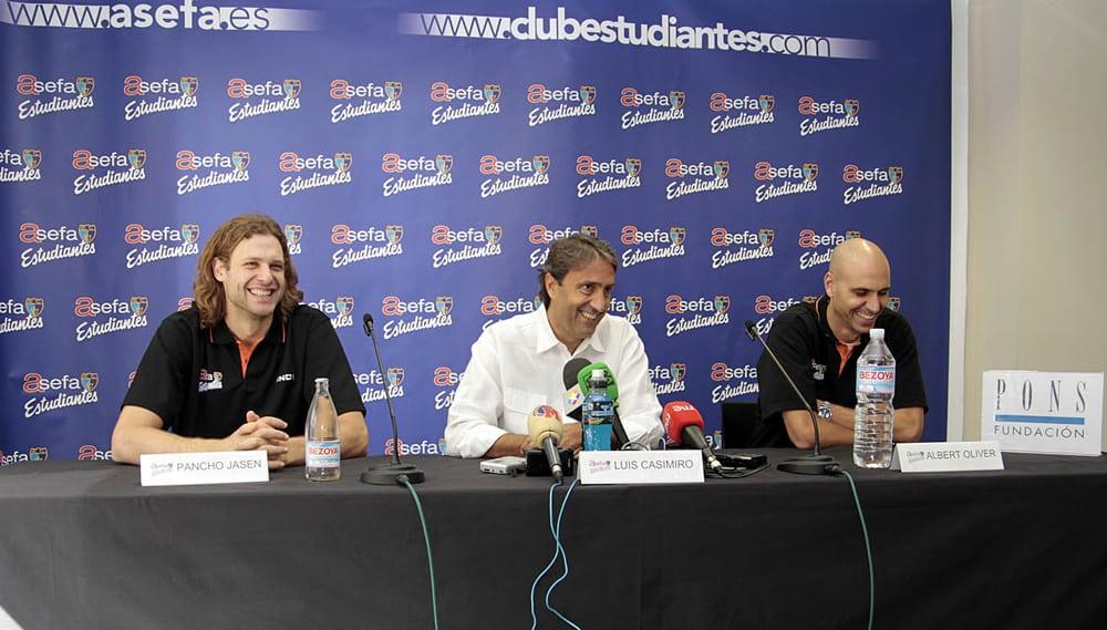 Casimiro, Jasen y Oliver calientan motores ante el derbi de debut