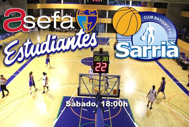 LF2: Las colegiales vuelven a casa (vs Sarriá, sábado 18:00h)