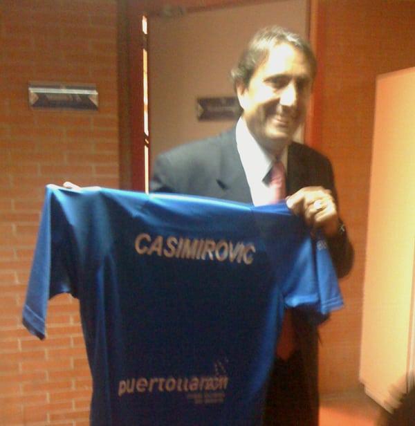 """Puertollano rebautiza a """"Casimirovic"""""""