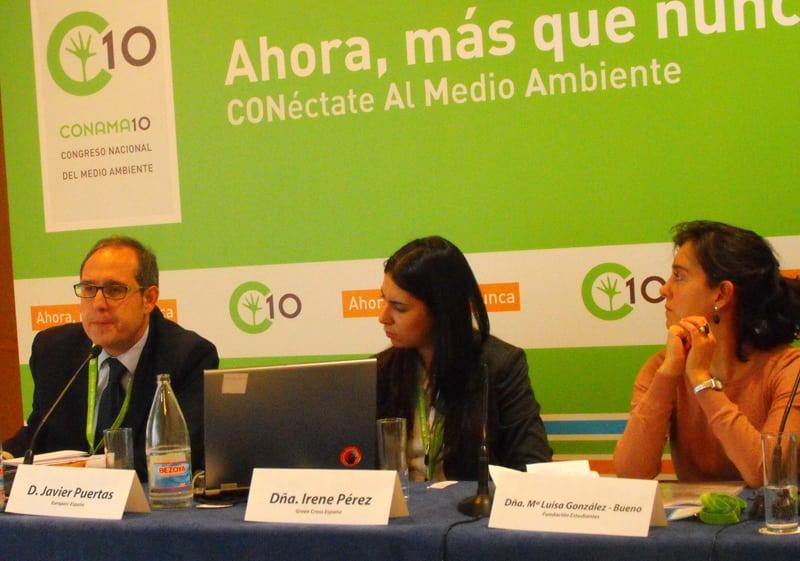Fundación Estudiantes en el 10º Congreso Nacional de Medio Ambiente