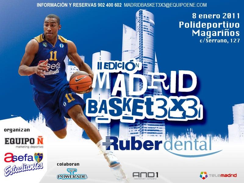 Madrid Basket 3X3 Ruber Dental