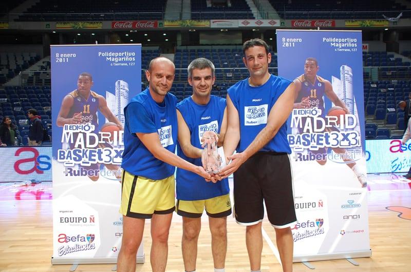 Los 7 magníficos del Madrid Basket 3×3 Ruber Dental