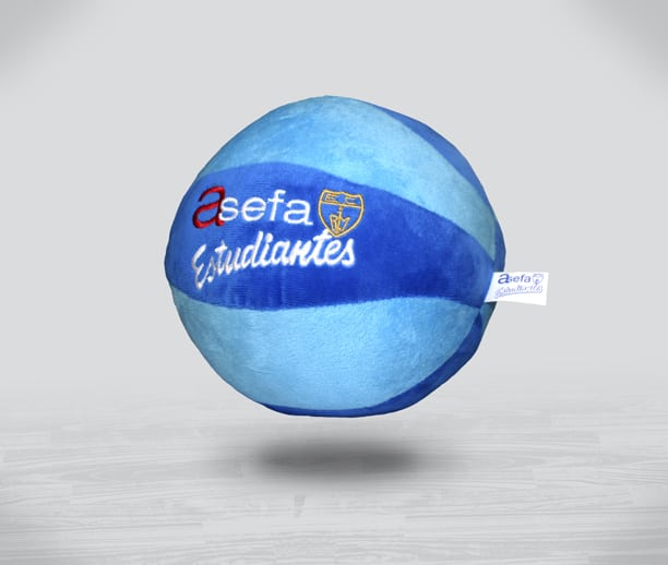 Balón de peluche, el nuevo producto oficial de Asefa Estudiantes