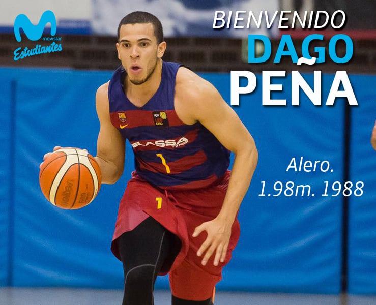 Dago Peña, puntos para Movistar Estudiantes