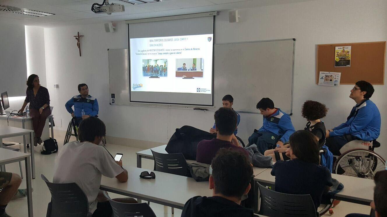 EstuAMEB y Fundación Estudiantes participan en la II Semana de Deporte para el Cambio