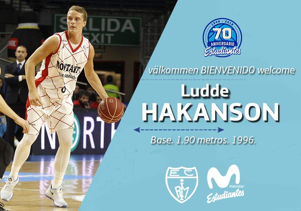 Ludde Hakanson, talento joven para Movistar Estudiantes