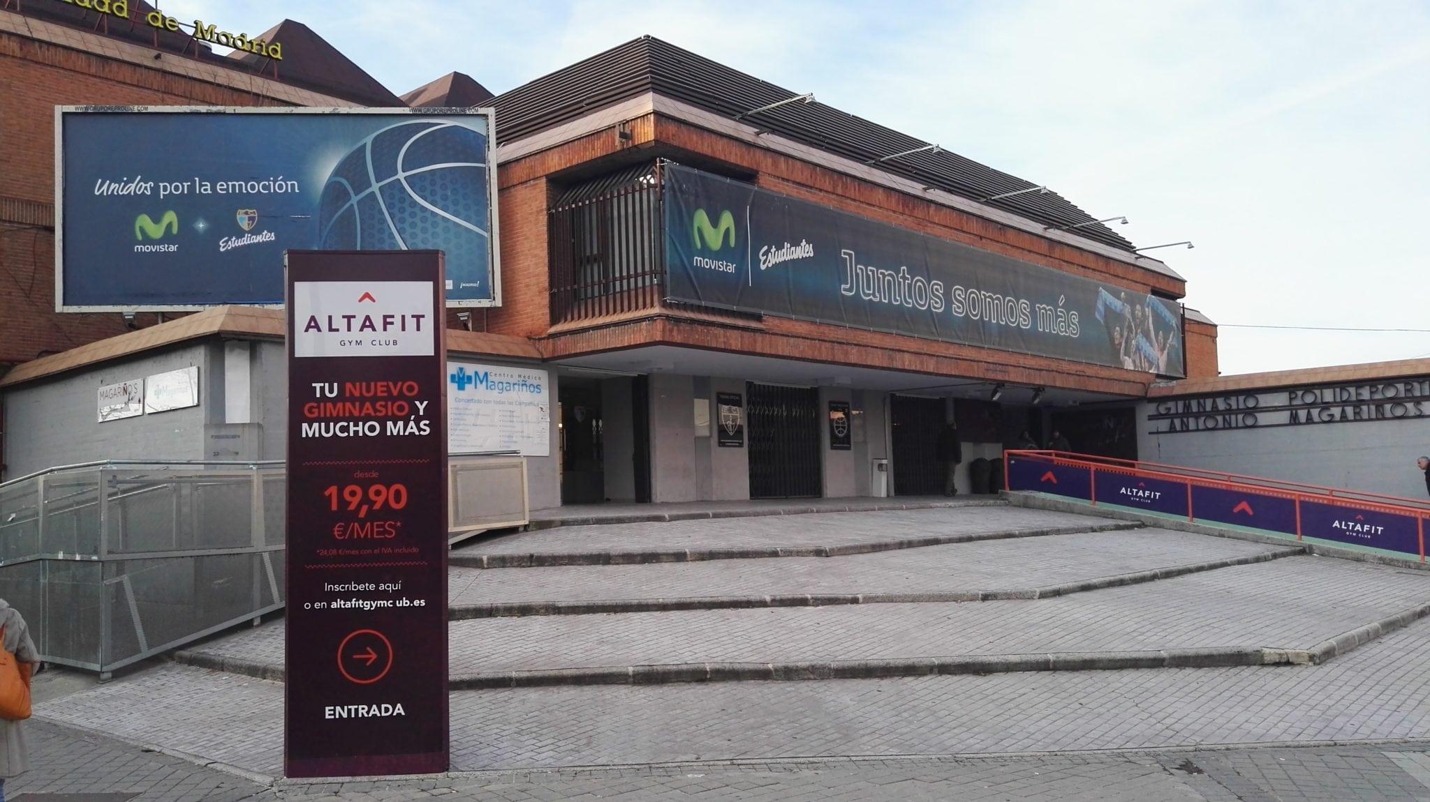 Polideportivo Antonio Magariños: cerrado lunes 14 y martes 15 de agosto