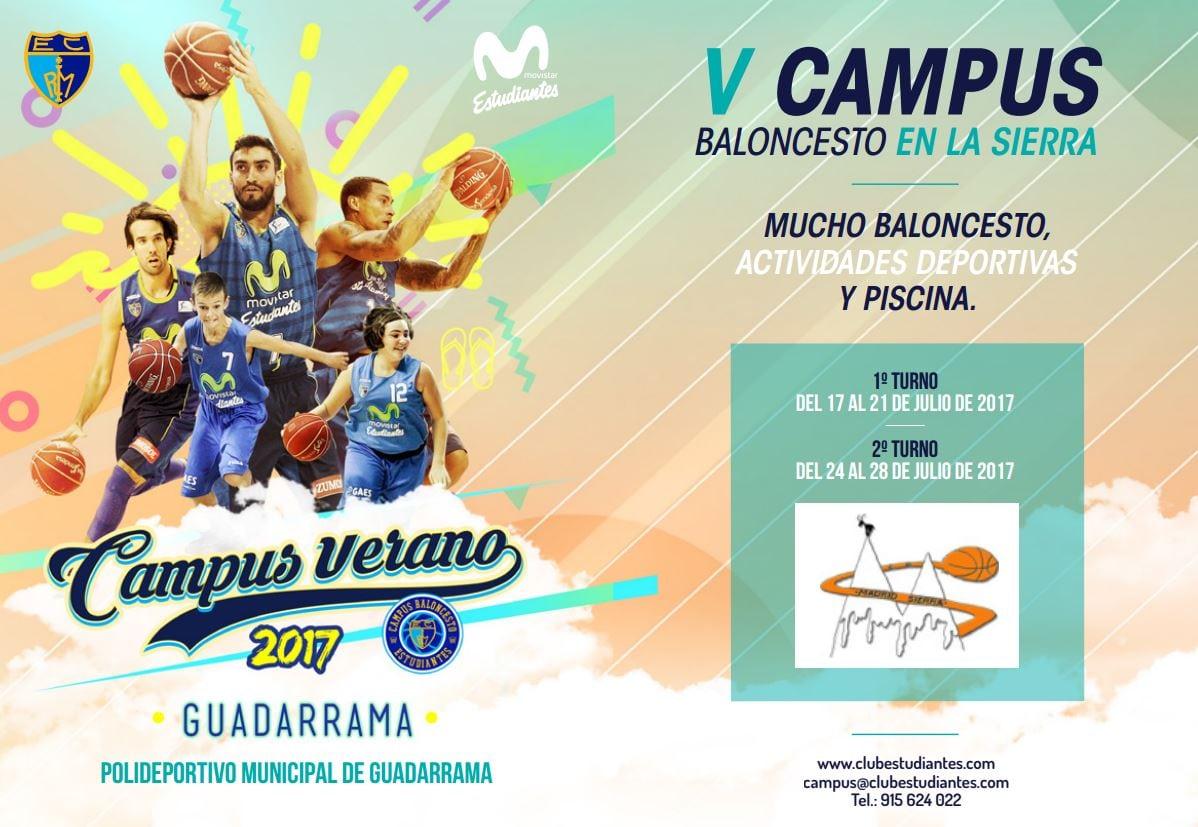 """V Campus """"Baloncesto en la Sierra"""".  Guadarrama"""