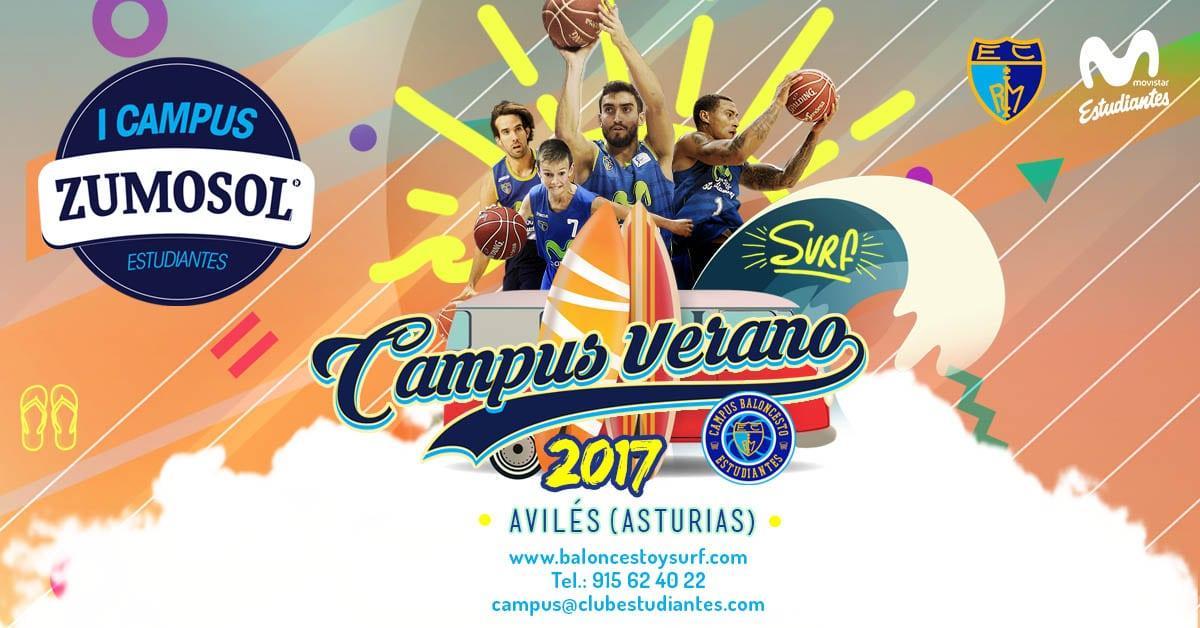 3×3 Zumosol Estudiantes de Avilés, aperitivo del Campus de Baloncesto y Surf de este verano