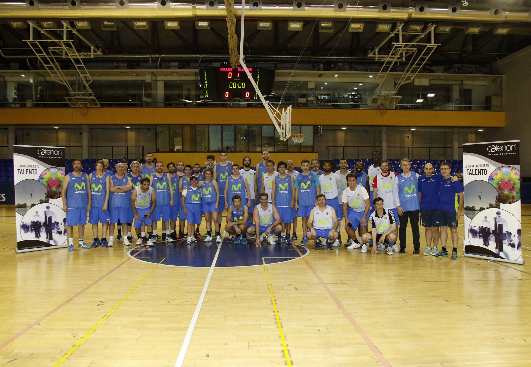 I Proam de Baloncesto de Catenon organizado por el Club de Negocios Movistar Estudiantes