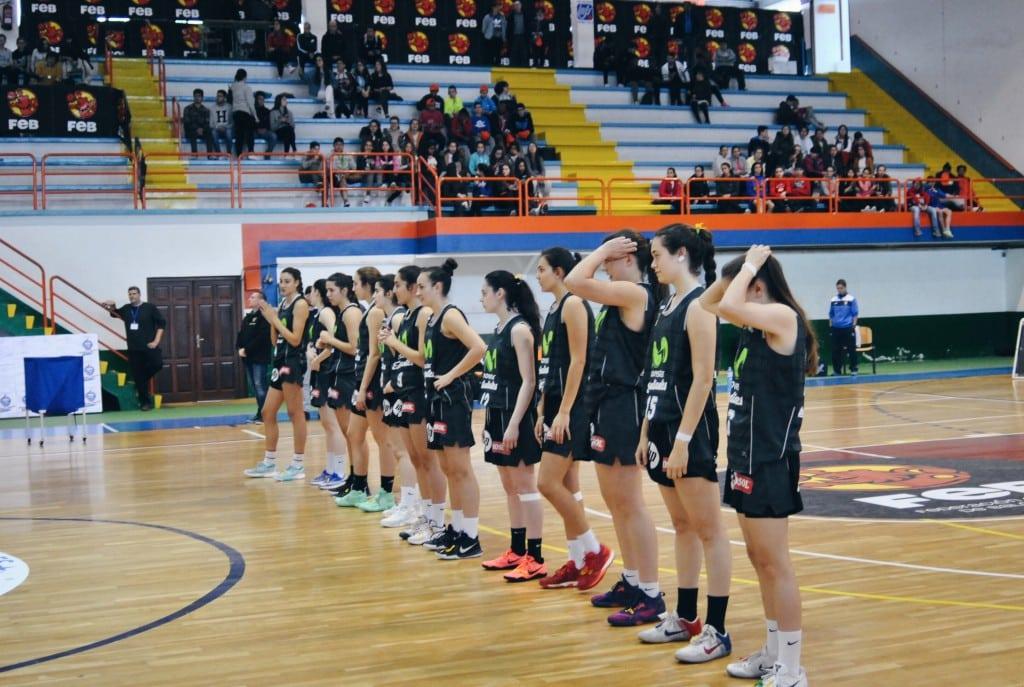 ¡Las pequeñas Women In Black en octavos del Campeonato de España Junior Femenino!