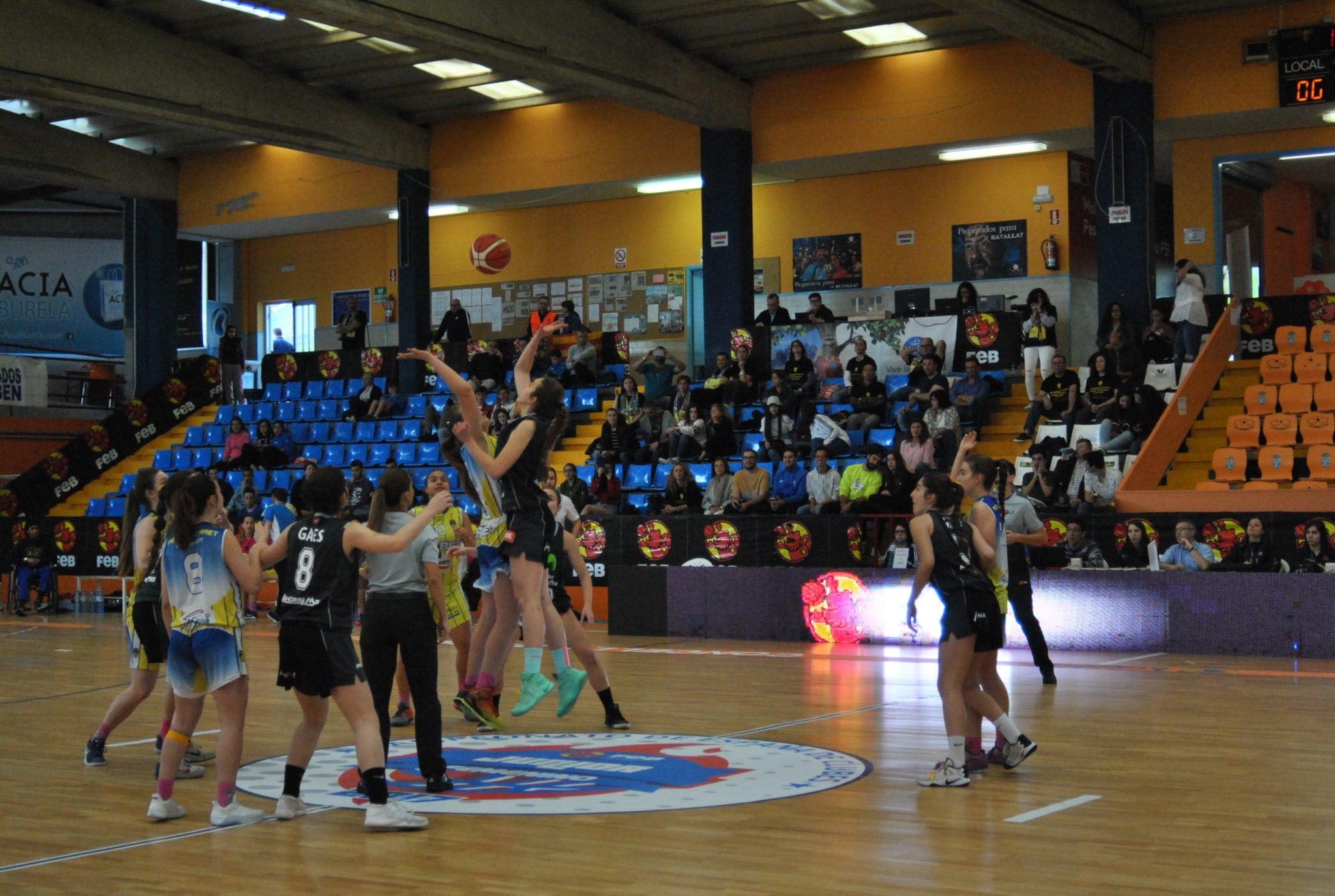 Las Women in Black junior, bronce en el Campeonato de España (71-55)