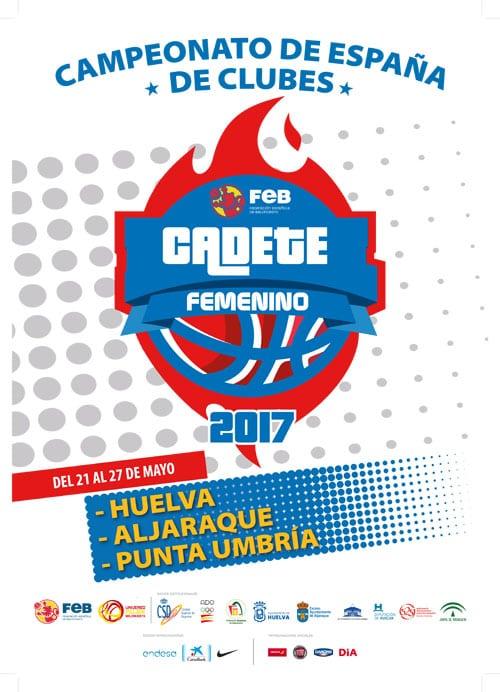 Campeonato de España Cadete Femenino (21 al 27 de mayo en Huelva, Aljaraque y Punta Umbría): como Campeonas de Madrid, en un grupo complicado