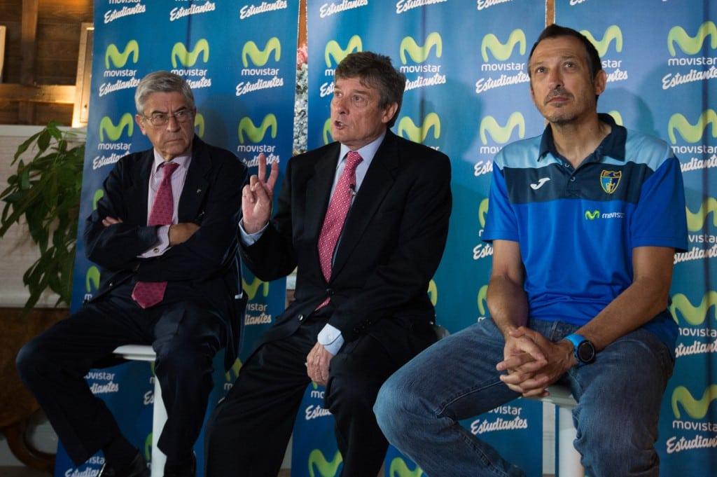 Los presidentes Fernando Galindo y Miguel Ángel Bufalá valoran la temporada 2016-17 de Movistar Estudiantes