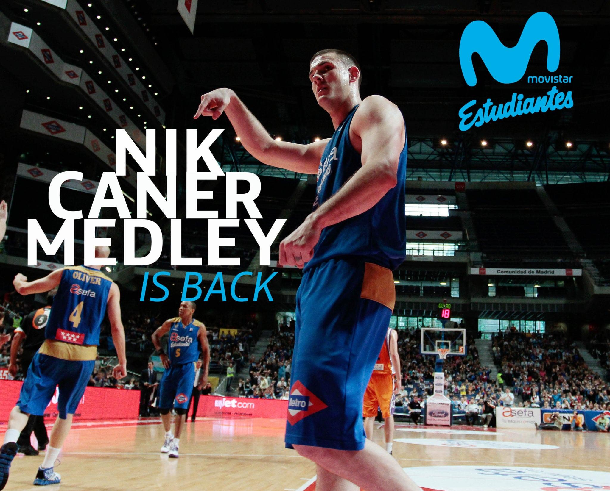 Nik Caner-Medley regresa a Movistar Estudiantes