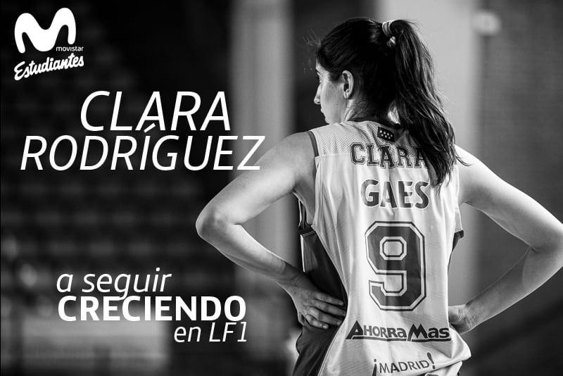 Clara Rodríguez seguirá creciendo con Movistar Estudiantes