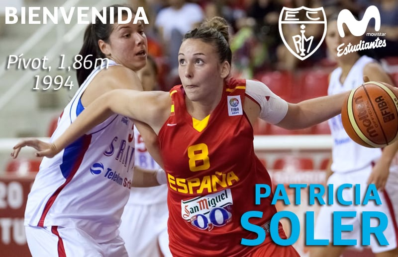 "Patricia Soler, nueva ""woman in black"" de Movistar Estudiantes"