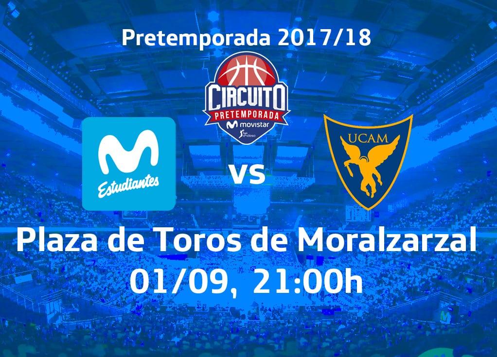 Listos para la primera prueba: UCAM Murcia en el Circuito de Pretemporada Movistar de Moralzarzal (viernes, 21h. LaOtra y FB /YouTube de ACB)