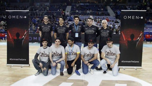 VÍDEO  Así fue la primera exhibición de eSports durante un partido de baloncesto