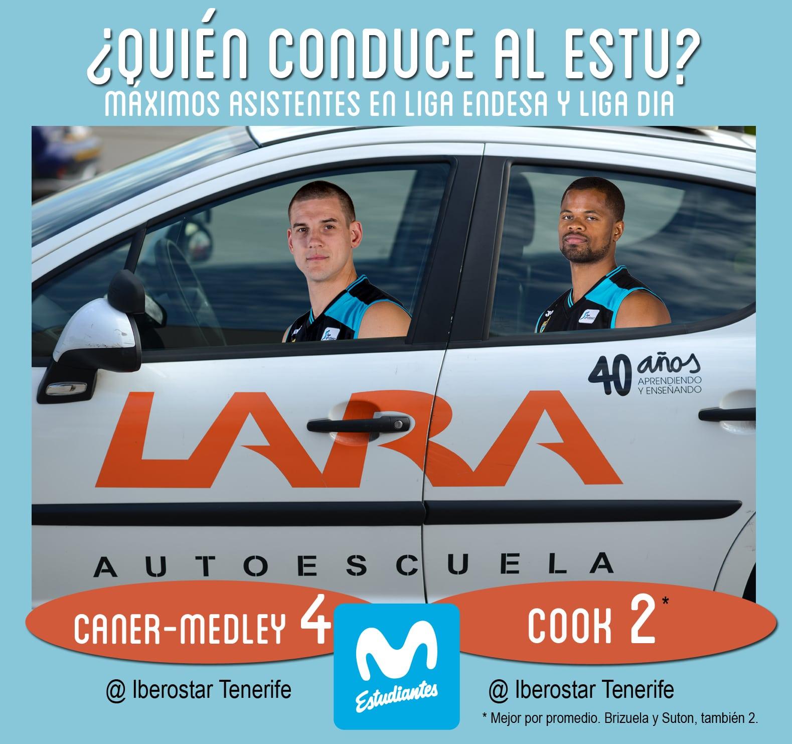Conductores Autoescuela Lara: Caner-Medley y Cook