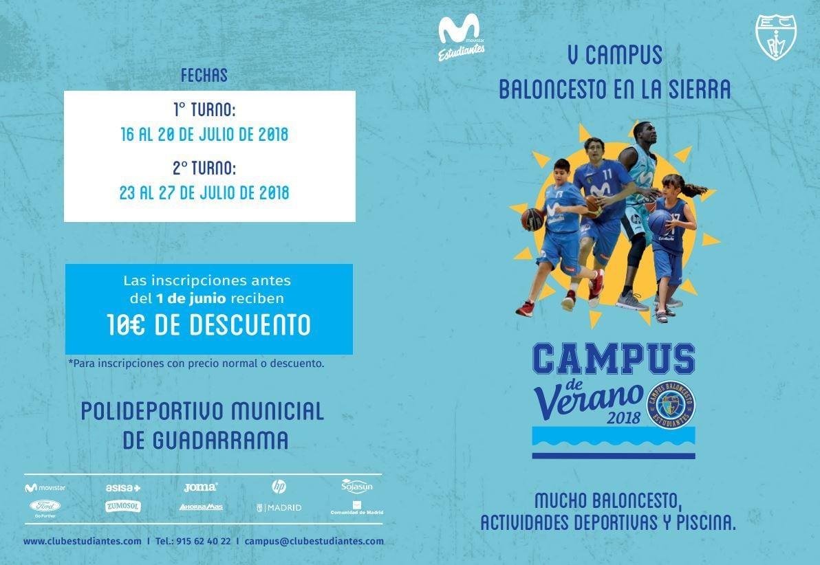 V Campus BALONCESTO EN LA SIERRA, Guadarrama