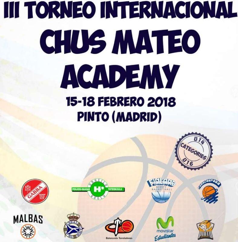 La cantera de Movistar Estudiantes en el III Torneo Internacional Chus Mateo Academy de Pinto
