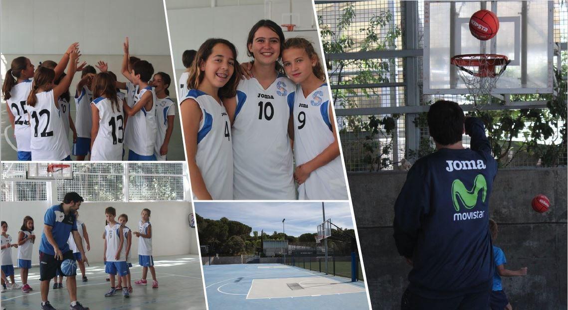 Clínic de Baloncesto con Movistar Estudiantes y Liceo Europeo