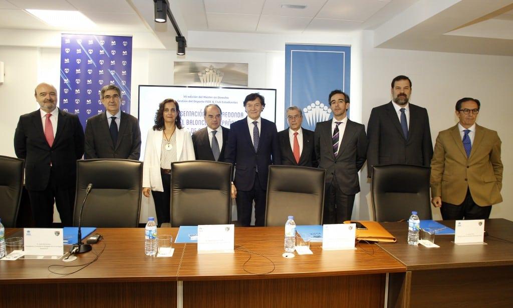 Exitosa mesa redonda sobre el futuro del baloncesto español en la presentación del Máster de ISDE y el Club Estudiantes