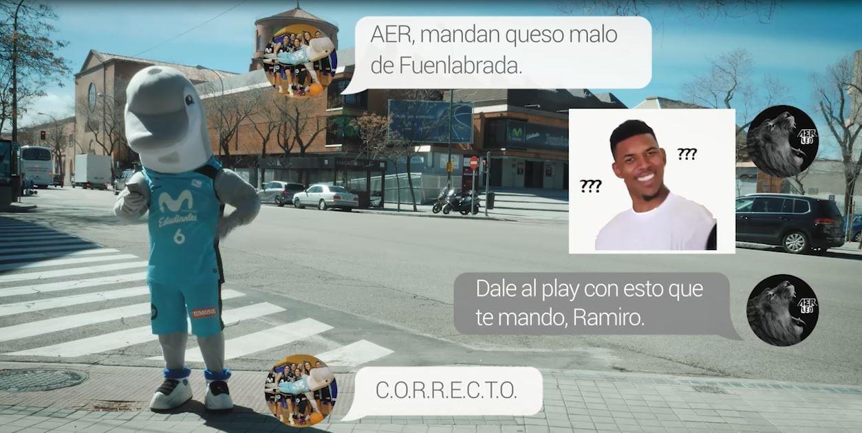 «Si tu dices Fuenla… Yo digo Game over Fuenla» . El Delfín Ramiro y AER responden al «beef» de Montakit Fuenlabrada