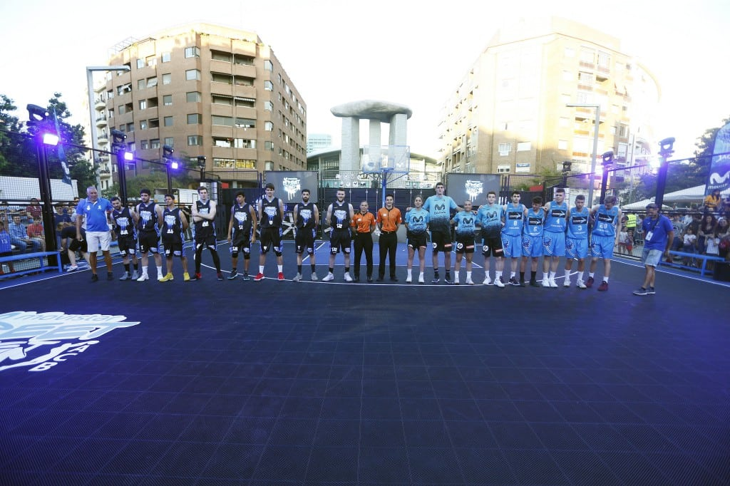 Movistar Street Basket en Madrid