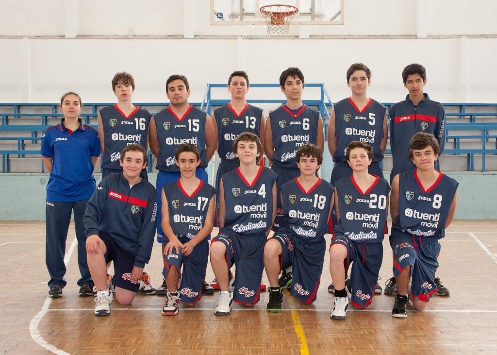 Cadete E Masculino. Tuenti Móvil Estudiantes 2013-14