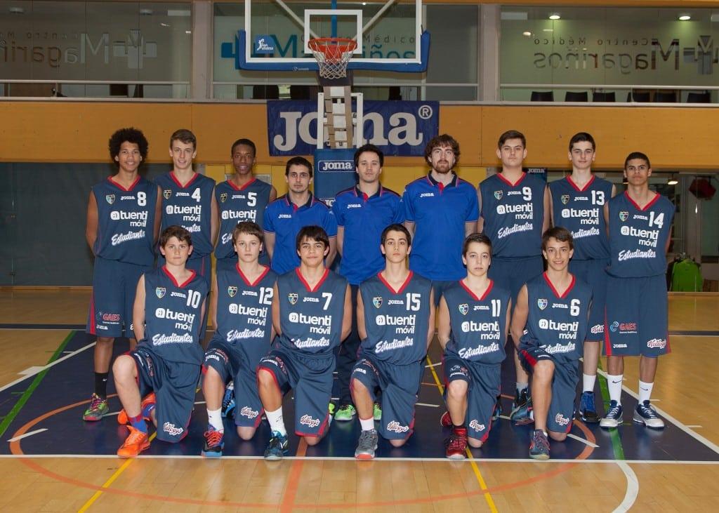 Infantil A Masculino. Tuenti Móvil Estudiantes 2013-14