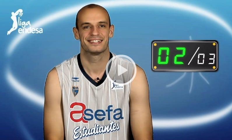 [VIDEO] Carlos Jiménez en el concurso de Liga Endesa