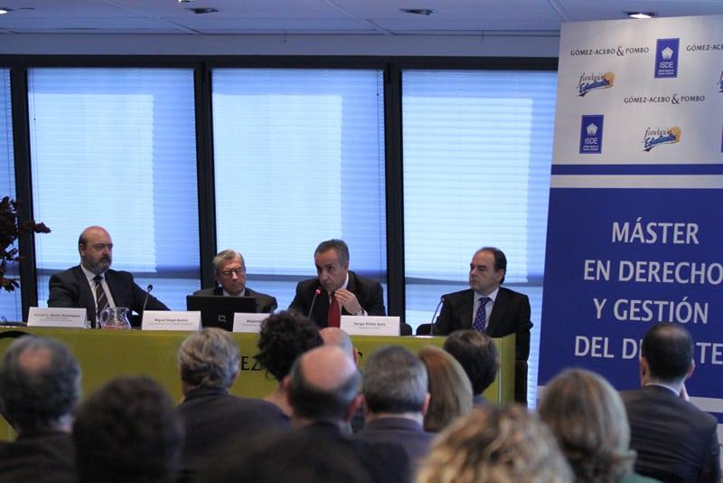 Presentado el Máster en Derecho y Gestión del Deporte, con reflexión sobre Madrid 2020